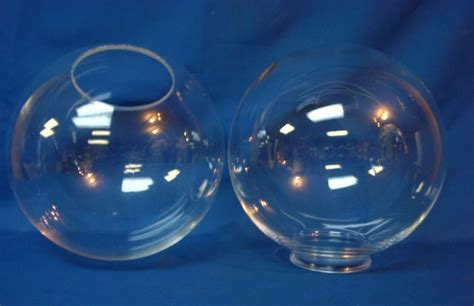 10 quot plastic acrylic clear globe light fixture