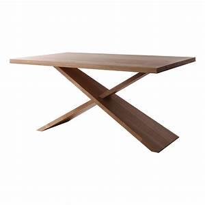 Table Bois Massif Design : table en bois massif design brin d 39 ouest ~ Teatrodelosmanantiales.com Idées de Décoration