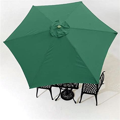 sears replacement patio umbrella koval inc 9ft 6 rib patio umbrella replacement canopy