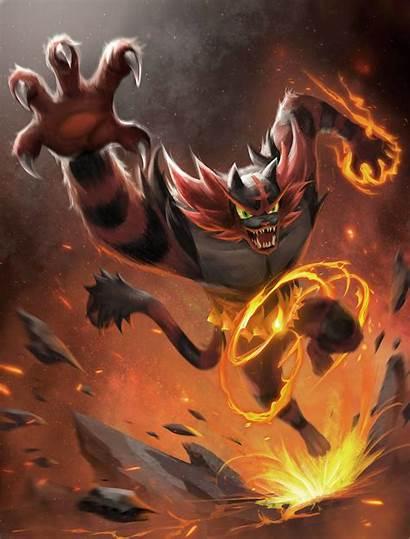 Litten Deviantart Pokemon Incineroar Evolution Final Offical