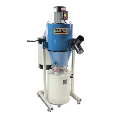 cyclone dust collector dc  baileigh industrial