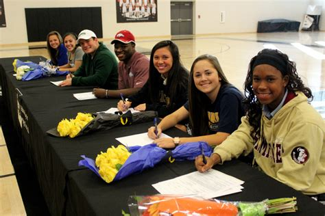 what is a letter of intent bishop lynch student athletes sign national letters of 10308