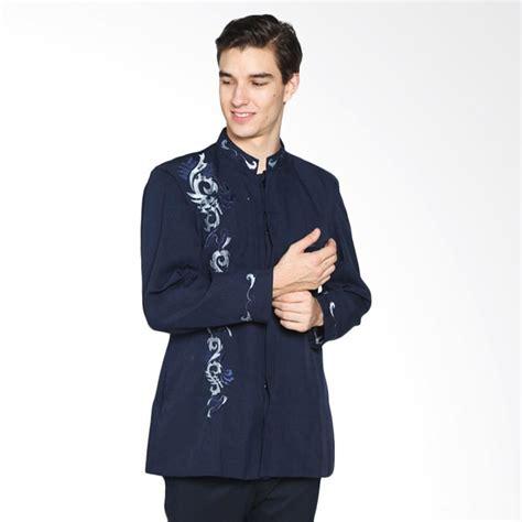 jual gema collection muslim jasko baju koko pria biru