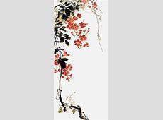 水墨花卉_素材中国sccnncom