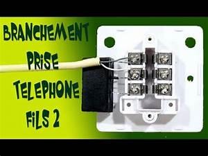 Branchement Prise Rj45 Legrand : branchement prise telephone 2 fils youtube ~ Dailycaller-alerts.com Idées de Décoration