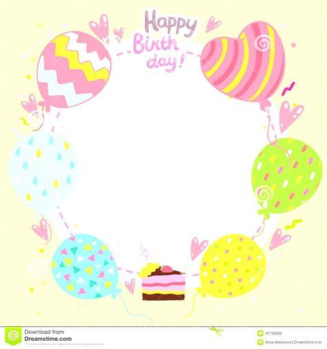 Free Birthday Templates by Birthday Card Template Cyberuse