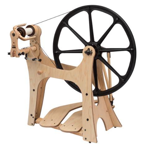 Schacht Flatiron Spinning Wheel With Scotch Tension