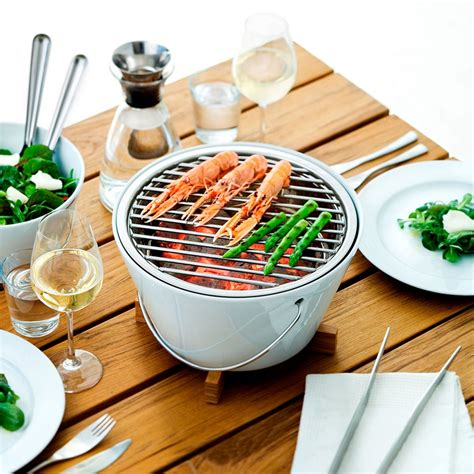 cuisine design rotissoire barbecue de table table grill zendart design