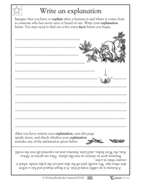 14 best images of worksheets writing with details