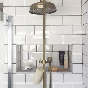The, Best, Bathroom, Update, Ideas, We, Found, On, Instagram, A, Doorless, Shower, Design, That, Makes