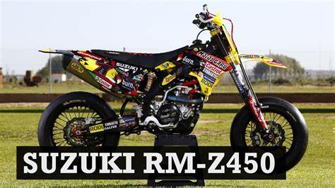 Supermoto Suzuki by Supermoto Build Suzuki Rm Z450 By Grau Racing