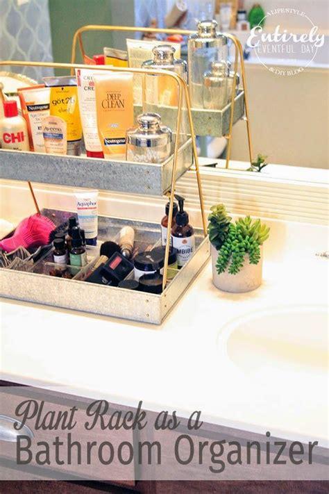 Bathroom Countertop Storage Ideas by Creative Bathroom Counter Organizing Idea Entirely