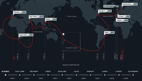 volvo ocean race preview  leg  scuttlebutt sailing