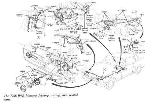 auto wiring diagram   mustang foglamp wiring