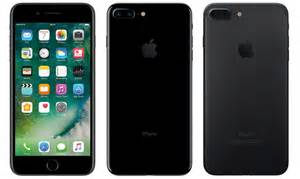 apple iphone 7 apple iphone 7 plus jet black and matte rwmarius