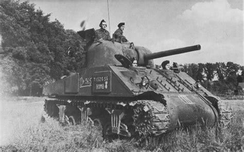M4 Sherman Tank  World War Ii