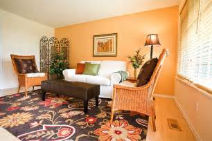 livingroom color color your with an orange living room