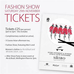 fashion show ticket template - tickets for fashion shows fashion show ticket by