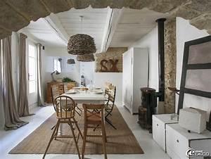 photos salle a manger provencale With ordinary meubles blancs style bord de mer 5 decoration chambre epure