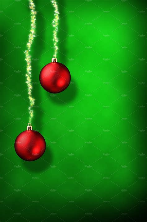 xmas green background vertical holiday  creative