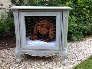 Shabby Chic End Table Dog Bed