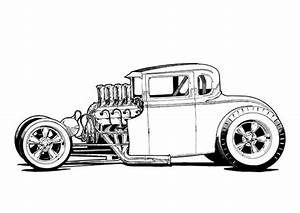 563 best hot rod artwork images on pinterest automotive With 1953 ford hot rod