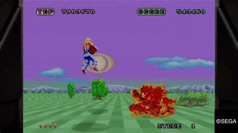 yakuza  space harrier  run  classic arcade
