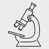Microscopio Microscope Drawing Coloring Colorear Dibujo Optical Clipart Disegno Colorare Desenho Colorir Transparent Libro Livro Cartoon Pollo Pepe Amoeba Ottico sketch template