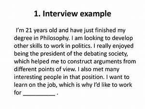 Interview Questions Tell Me About Yourself How To Talk About Yourself In English презентация онлайн