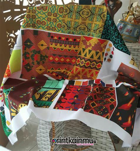 galeri pusat print kain murah  wapusat