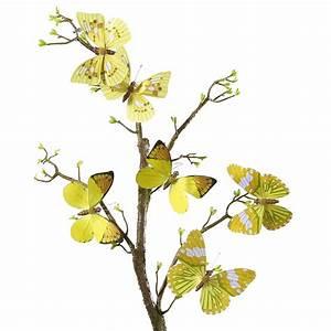 Schmetterlinge Als Deko : deko deko schmetterlinge 10 cm gelb dekoration bei ~ Lizthompson.info Haus und Dekorationen