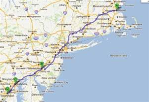 Road Map Us East Coast Maps Of USA US Route Ft Kent ME To Key - Us highway map east coast