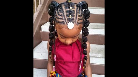 2018 Unique Braided Hairstyles For Little Girls.stylish