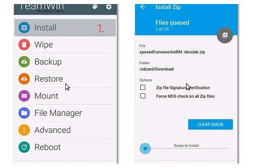 baixar arquivo zip para xposed installer