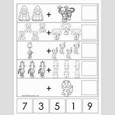 15 Zoo Themed Math Worksheets Preschool, Prek, And Kindergarten Math