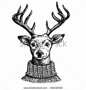 Reindeer Head Stock Images, Royalty-Free Images & Vectors ...