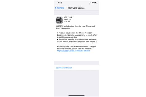 next iphone update apple s ios update fixes iphone x screen