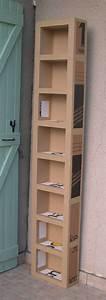 tutoriel comment fabriquer un meuble en carton celine With comment fabriquer un meuble en carton