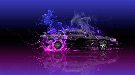 Abstract Car Wallpaper 4k by Nissan Skyline Gtr R32 Jdm Side Abstract Car 2016