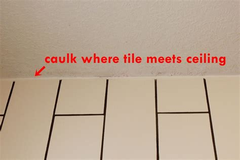 how to fix gap between ceiling and kitchen crown molding how to tile a shower tub surround part 2 grouting