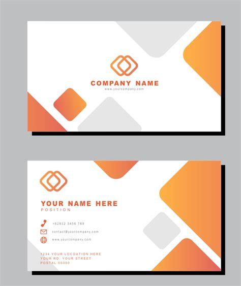 desain kartu nama minimalis serbabisnis