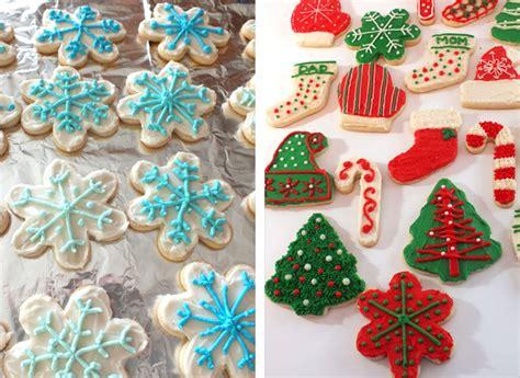 decorating frosting  sugar cookies recipe