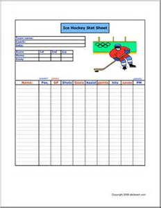 Hockey Game Sheet Template BestSellerBookDB