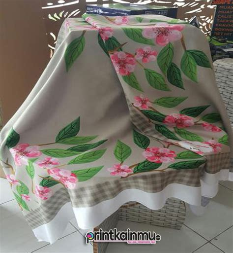 pusat print kain murah  wa