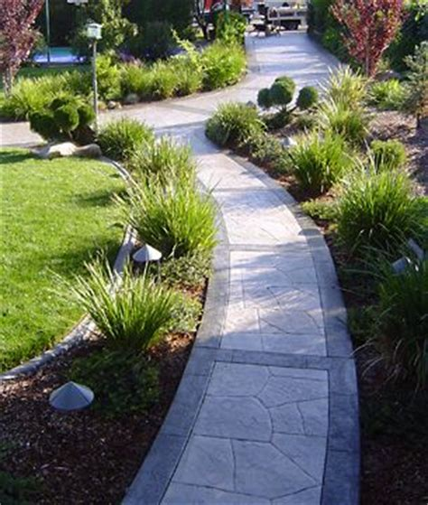 stamped concrete walkway ideas  pinterest stamped concrete stamped concrete