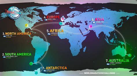 Sju maraton, sju kontinenter, sju dager | Aktiv Trening