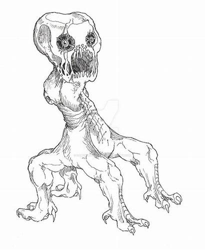 Creeper Drawing Creepers Minecraft Drawings Getdrawings Deviantart