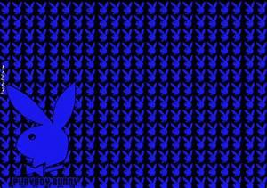 Blue glitter playboy bunny Twitter Backgrounds - Pimp-My ...
