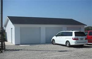 24x36 3 car garage good will builders inc With 24x36 garage kit