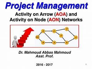 Activity On Arrow Diagram Generator